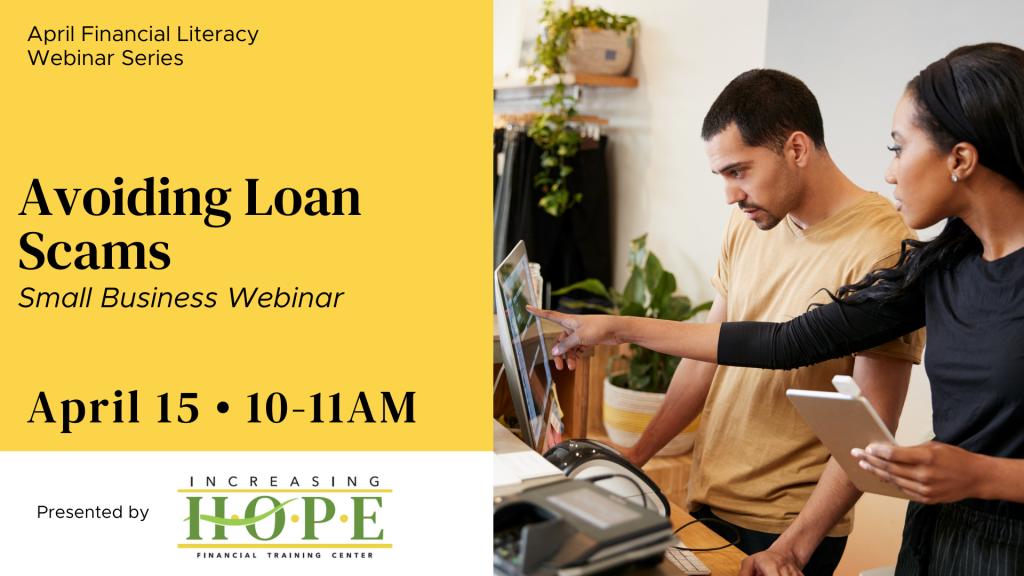 avoiding loan scams webinar